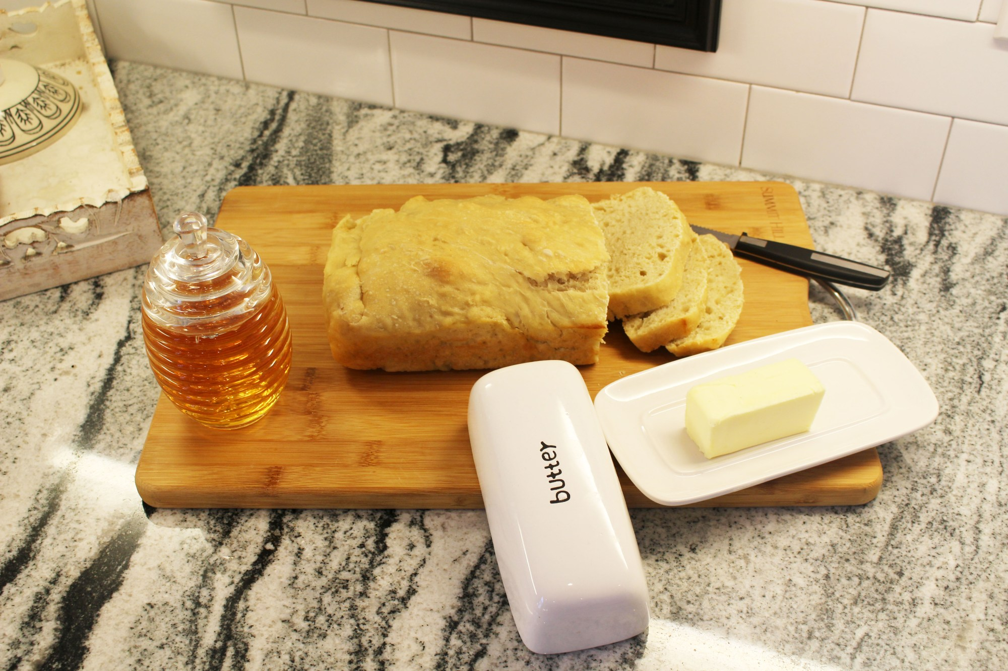 Homemade Bread and My Sister…….