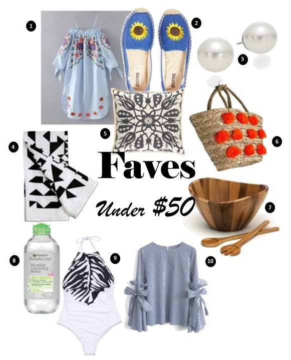Faves Under $50….