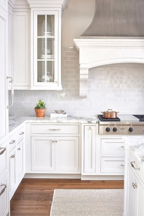 all white kitchen