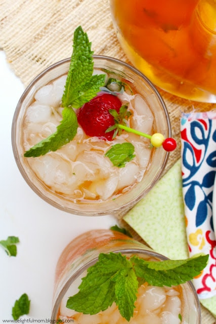 Mango Black Tea Cocktail Recipe