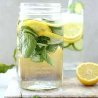 Lemon Cucumber Mint Detox Water