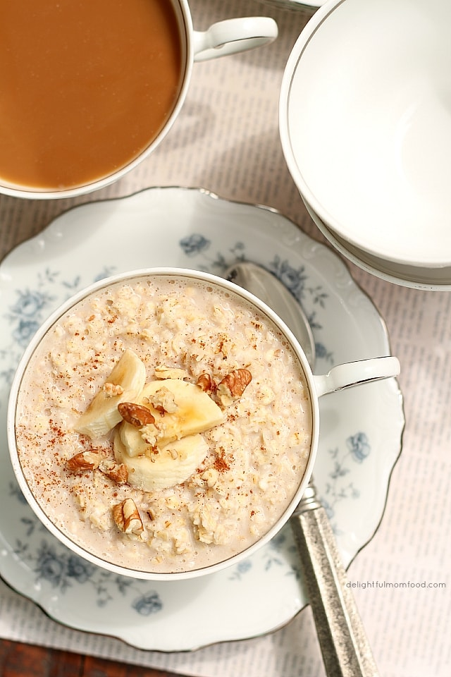 creamy instant oatmeal recipe