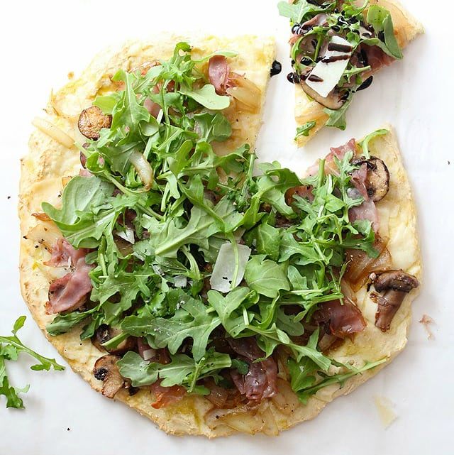 arugula pizza | simple healthy recipes