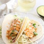 Cod Fish Tacos With Southwest Sauce
