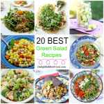 20 Best Green Salad Recipes that are Vegetarian