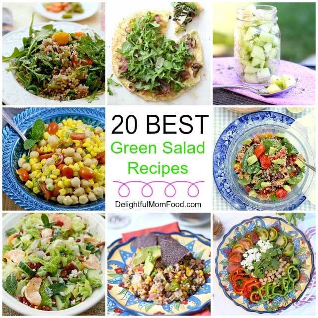 Green Salad Five Times Out Of Ten I Find Myself Struggling To Figure What Make For A Healthy Dinner Unless Have An Organized Meal Plan