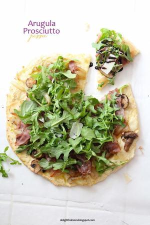 Arugula Pizza Recipe