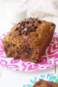 Can you believe this chocolate chip bread is actually healthy? Anything pretty much chocolate is amazing. But this recipe is the number 1 best selling healthy chocolate chip bread loaf that will have friends begging for more!