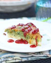 Green Eggs Quiche