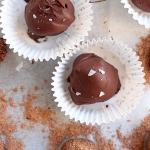 Guilt-Free Peppermint Chocolate Truffle Recipe
