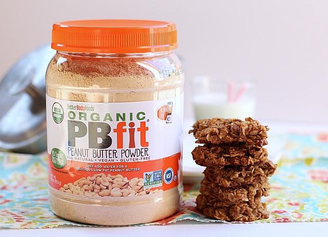 PBfit Oatmeal Cookies