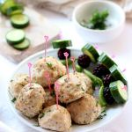 Oven-Baked Turkey Meatballs