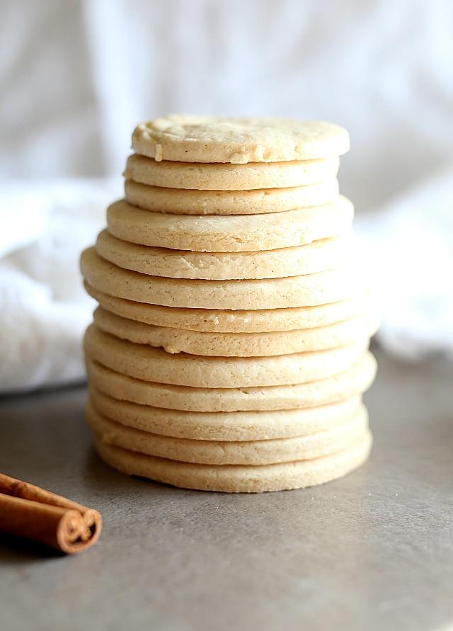 Vegan Cut Out Sugar Cookies