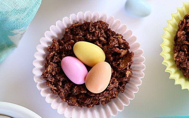 Chocolate Bird Nests