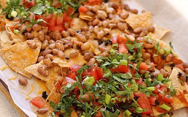 Simple Family-Style Enchilada Nachos Recipe