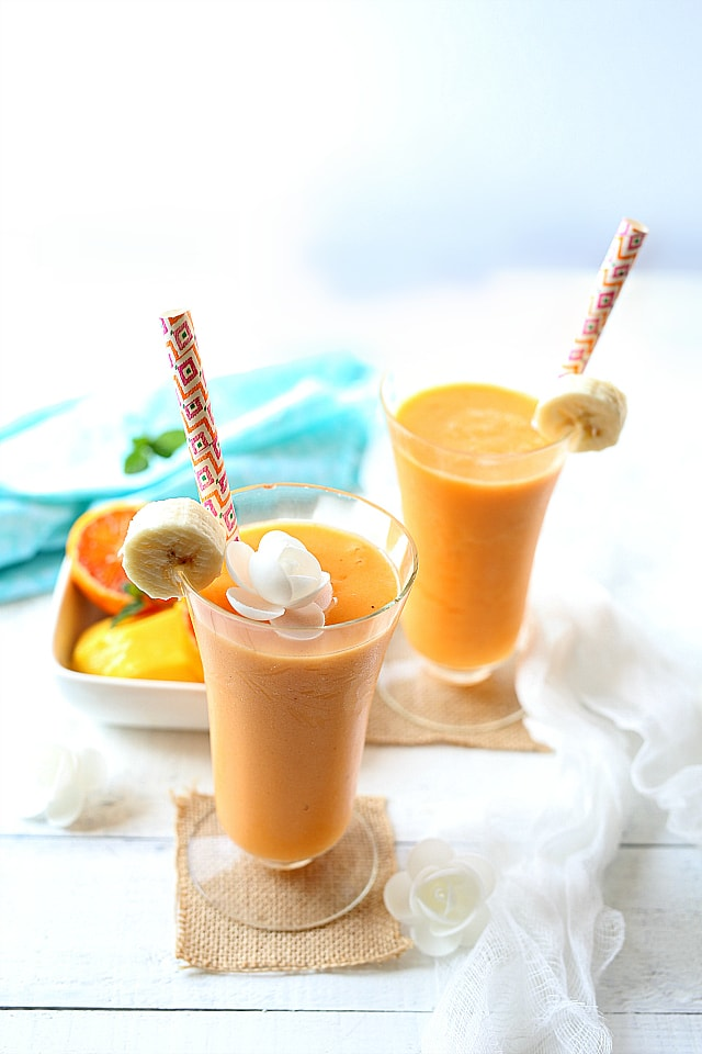 Smoothie like being in the tropics
