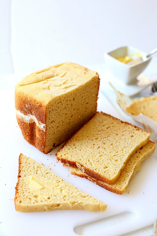 Gluten Free White Bread Loaf Recipe Delightful Mom Food