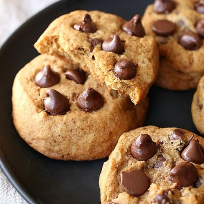 Vanilla Spiced Chocolate Chip Cookies (Gluten-Free)