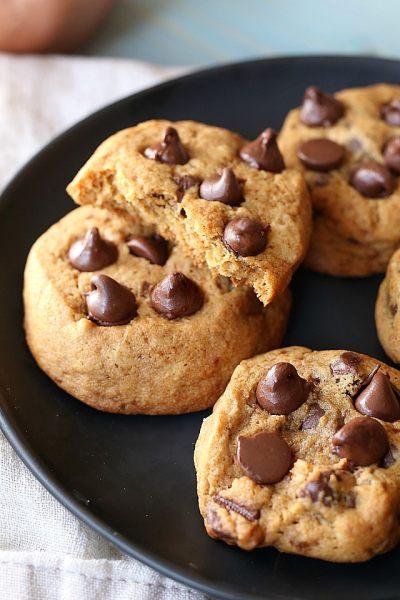 Vanilla Spiced Chocolate Chip Cookies (Gluten-Free)