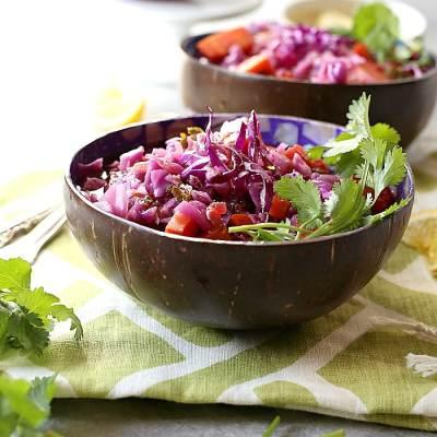 Purple Cabbage Soup