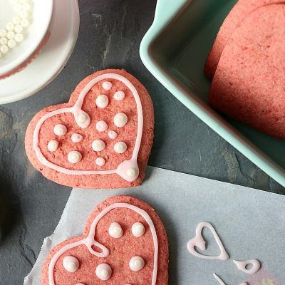 Healthy Vegan Beet Sugar Cookies