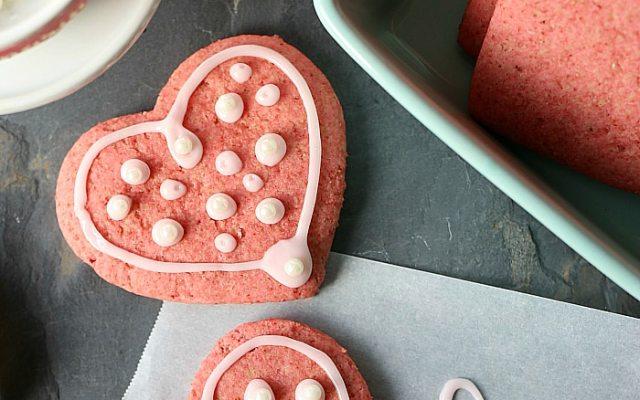 Healthy Vegan Beet Sugar Cookies