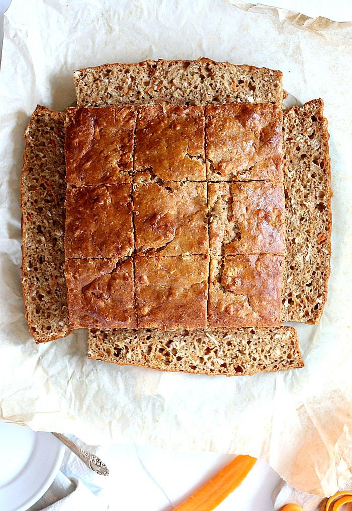Inch Square Carrot Cake Recipe