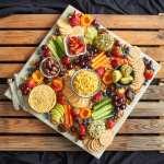 Vegan Cheese And Fruit Platter Delightful Vegans