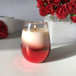 Red Riley Stemless Soy Candle