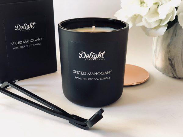Deluxe Matte Black Candle Set