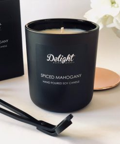 Deluxe Matte Black Candle Set