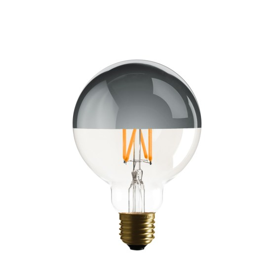 G95 mirror top led bulb delighting