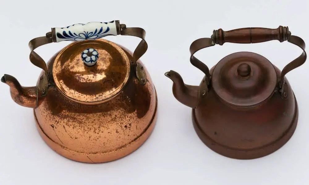 2 Kettles Copper Vintage