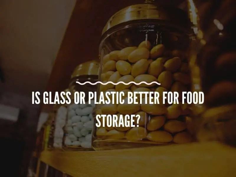 Glass Jar for Food Storage