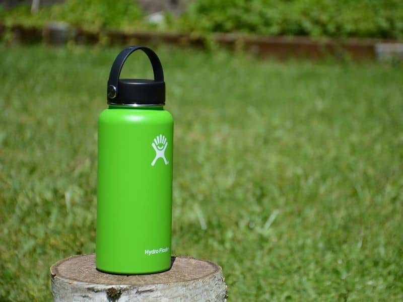 Hydro Flask bottle green color