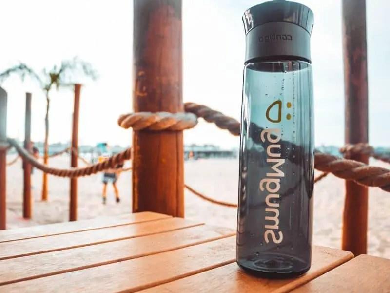 Plastic Contigo water bottle