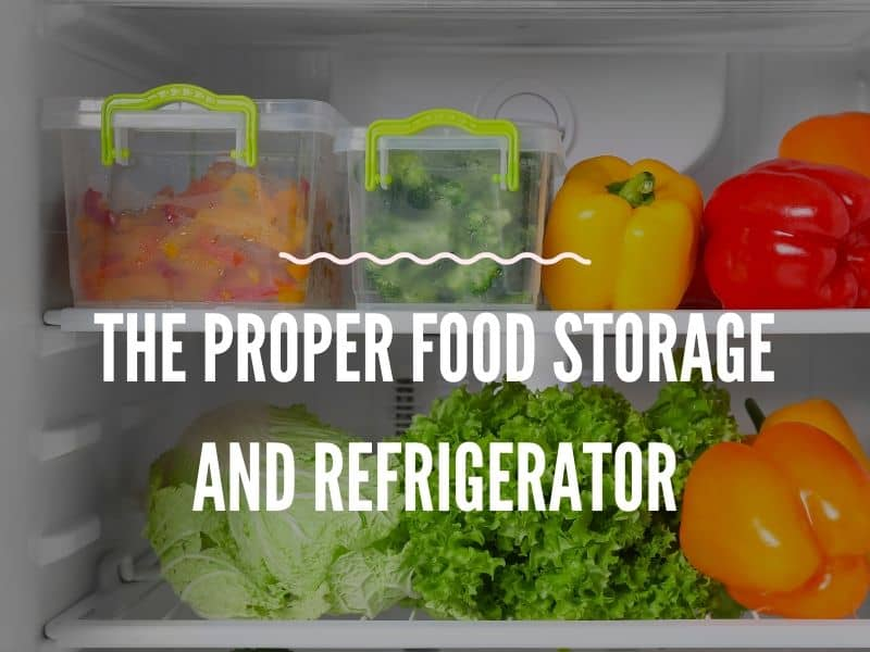 food in the container inside of Refrigerator