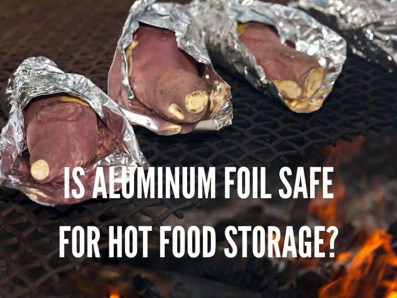 Aluminum Foil to bake the potato