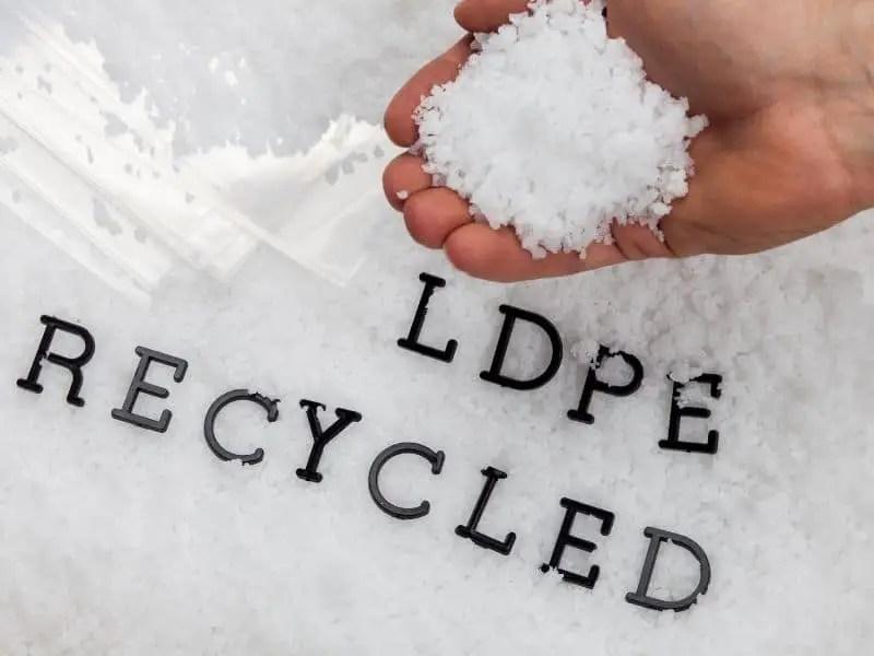 Recycled Low Density Polyethylene