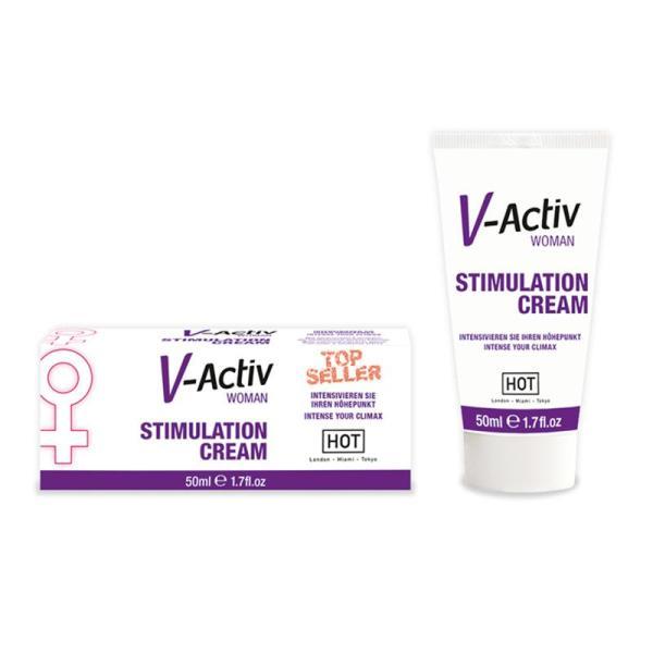 Hot V-Activ Stimulation Cream