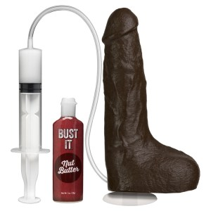 Cock Squirting With Removable Vac-U-Lock Suction Cup Black