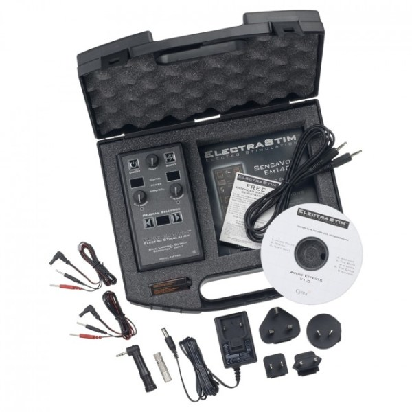 ElectraStim Sensavox High Spec Black