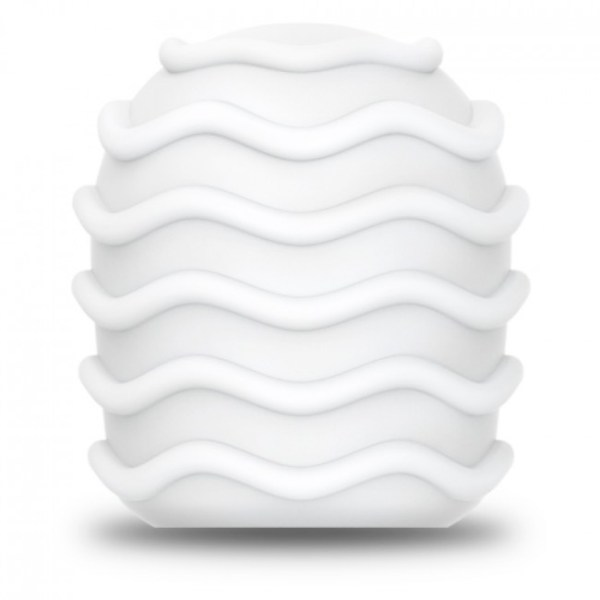 Le Wand Spiral Texture Cover White