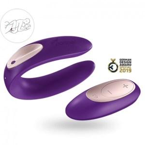 Satisfyer Partner Plus Remote Control Purple
