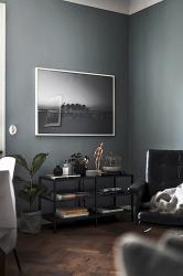 Piso nórdico de 44 m² en gris oscuro Blog tienda decoración estilo nórdico