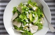 チーズとアボカドのグリーンサラダ(低糖質・低脂質レシピ)