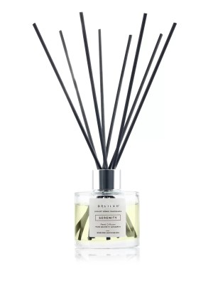 Serenity Reed Diffuser by Delilah Chloe. Lemongrass and Ginger luxury reed diffuser