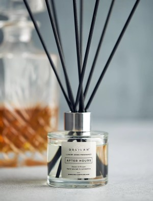 Tobacco & Oak Reed Diffuser, After Hours by Delilah Chloe Home Fragrance