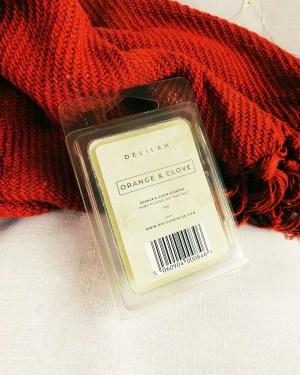Orange & Clove Wax Melt, Soy Wax Melts, Christmas Wax Melts by Delilah Chloe Home Fragrance