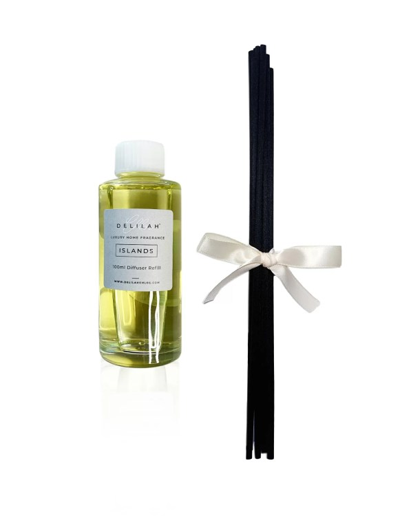 Islands Diffuser Refill, Luxury Reed Diffusers by Delilah Chloe